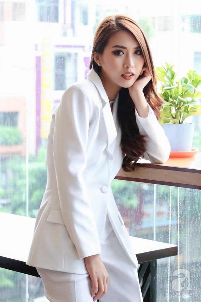 Hoa hậu Tường Linh: Mỗi ngày ngủ được 2 tiếng, nói thí sinh The Face như hot girl kem trộn là thiếu công bằng! - Ảnh 3.
