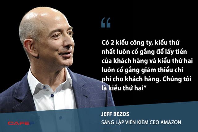 Những câu nói nổi tiếng làm nên thương hiệu ông chủ Amazon của Jeff Bezos - Ảnh 3.