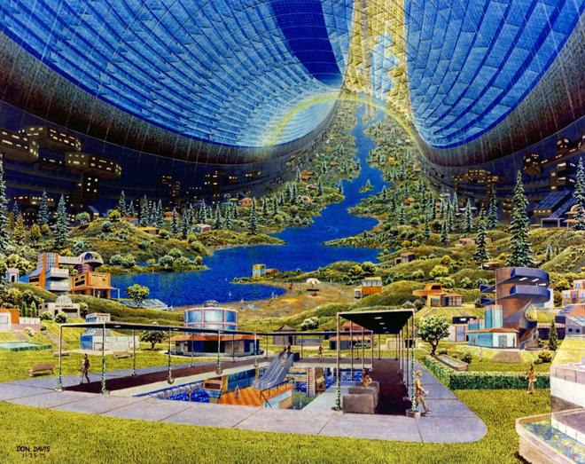 NASA đã từng có ý tưởng xây dựng thành phố ngoài vũ trụ như trong bộ phim Interstellar - Ảnh 3.