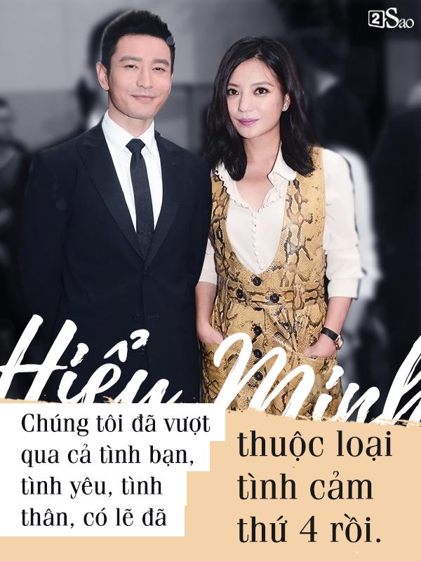 13 năm đơn phương yêu Triệu Vy, vạn lời tỏ tình của Huỳnh Hiểu Minh khiến nhiều người ngã gục - Ảnh 3.