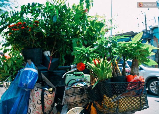 Trên đường phố Sài Gòn, có những người hàng chục năm chở theo một chợ xanh sau yên xe máy - ảnh 3
