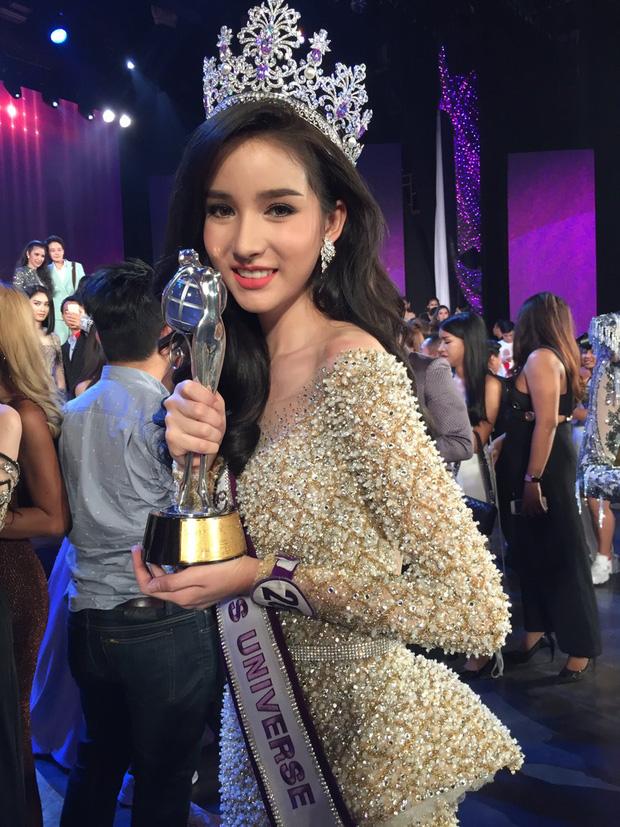 Hot girl được ví đẹp hơn Nong Poy vừa trở thành Hoa hậu chuyển giới Thái Lan 2017 - Ảnh 3.