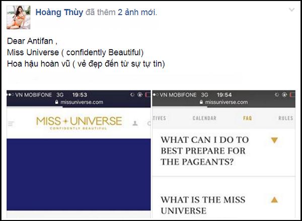 Bị chê không có vẻ đẹp hoa hậu, Hoàng Thùy lấy tiêu chí Miss Universe dạy dỗ anti-fan - Ảnh 3.