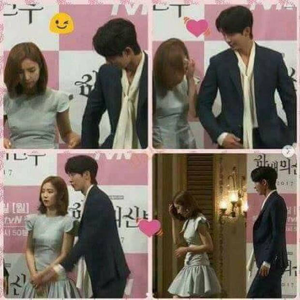 Sự thật đằng sau loạt ảnh Nam Joo Hyuk o bế mỹ nhân mặt đơ, bơ đẹp bạn gái cũ Lee Sung Kyung - Ảnh 3.