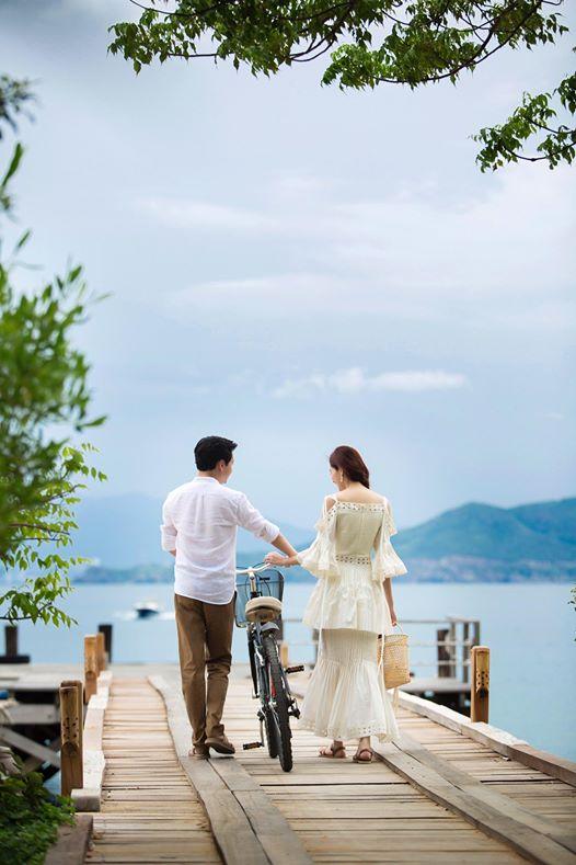 Hé lộ hậu trường chụp ảnh cưới của Hoa hậu Đặng Thu Thảo và bạn trai đại gia - Ảnh 3.