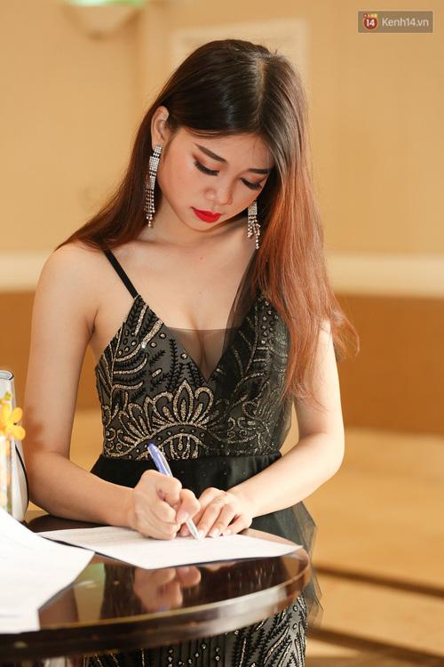 Ngỡ ngàng trước nhan sắc của nhiều thí sinh tham gia Hoa hậu Hoàn vũ miền Nam - Ảnh 3.