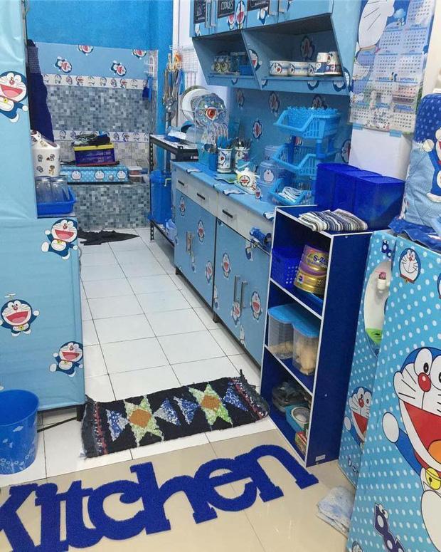 Đây là căn nhà khi hai vợ chồng đều là fan cuồng của mèo ú Doraemon cùng về sống chung! - Ảnh 3.