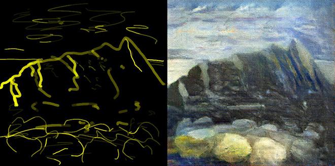 Trí tuệ nhân tạo đã có khả năng biến các nét vẽ nguệch ngoạc thành kiệt tác nghệ thuật - Ảnh 3.