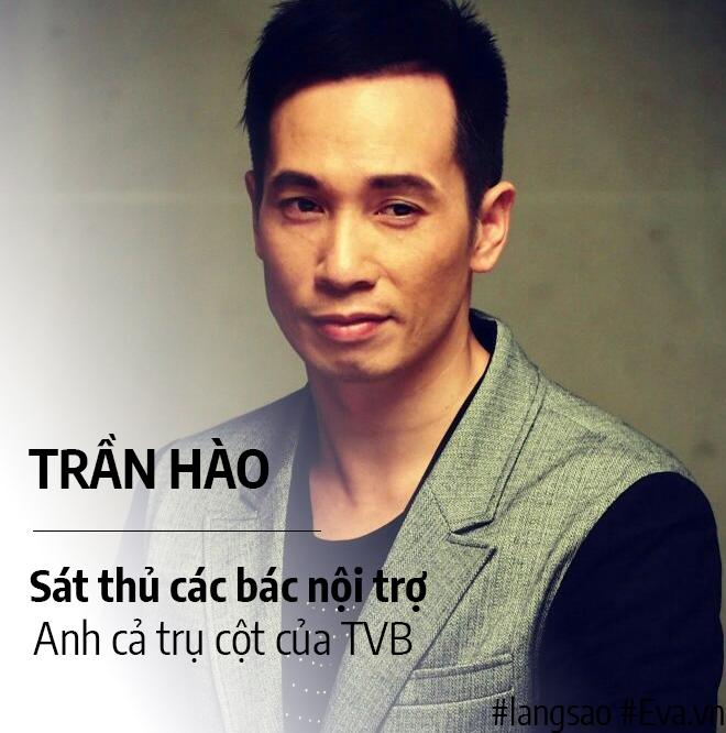 """Anh cả TVB Trần Hào: Hoàng tử cà phê """"phá tướng"""", tả"""