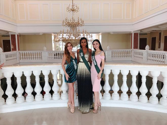 Hà Thu tiếp tục ghi điểm với giải đồng phần thi tài năng tại Hoa hậu Trái đất 2017 - Ảnh 3.