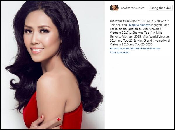 Diễn đàn quốc tế nô nức đăng tin Nguyễn Thị Loan dự thi Hoa hậu Hoàn vũ Thế giới 2017 - Ảnh 3.