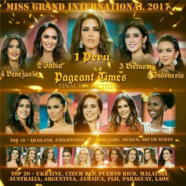 Maria Jose Lora - cái tên được nhắc đến nhiều nhất sau đêm chung kết Miss Grand International 2017 - Ảnh 3.