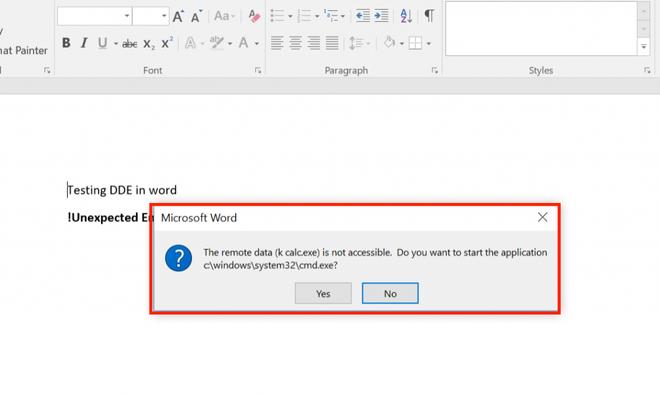 Phát hiện cách cài mã độc thông qua file Microsoft Word mà các chương trình Antivirus không thể phát hiện ra - Ảnh 3.