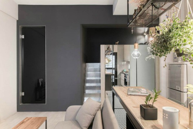 photo 2 1510976213328 Thiết kế căn hộ đẹp nhỏ chỉ vỏn vẹn 30m² nhưng khiến cho bất kỳ ai cũng xiêu lòng