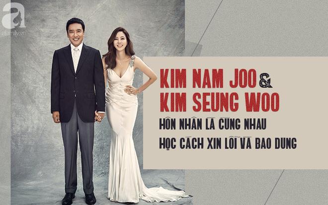 Chuyện tình 12 năm của nữ hoàng quảng cáo Kim Nam Joo và quý ông từng qua một đời vợ Kim Seung Woo - Ảnh 2.