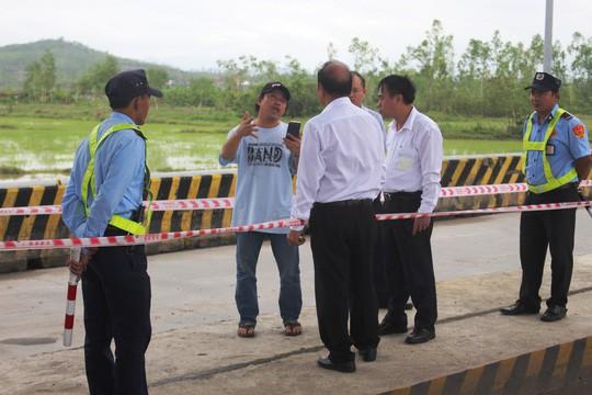 BOT Ninh An đối thoại với tài xế để giải quyết ách tắc - Ảnh 2.