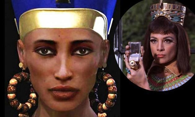 Nghe tên quá quen mà mấy ai biết diện mạo thật của các nhân vật lịch sử nổi tiếng này, bất ngờ nhất là Nữ hoàng đẹp nhất Ai Cập - Ảnh 3.