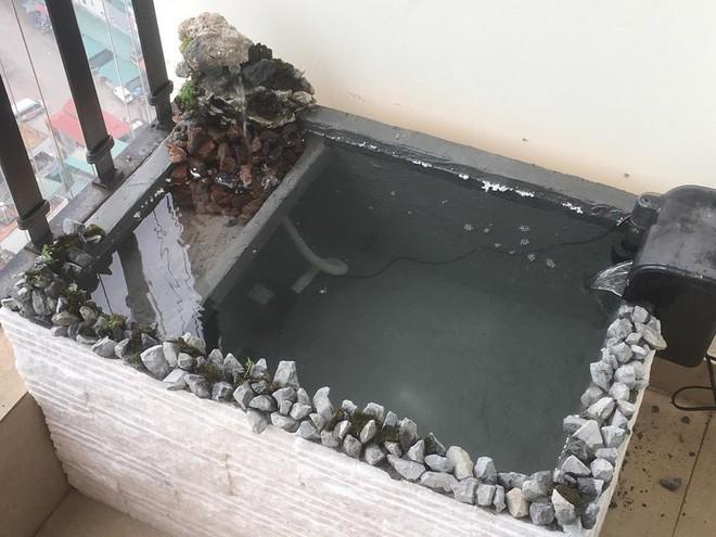 Ông bố khéo tay chế bể cá cảnh sang chảnh từ thùng xốp mua đầy ngoài chợ - Ảnh 3.