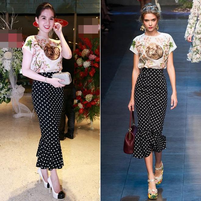 Liên tục bị tố mặc váy nhái, hai người đẹp Việt vẫn thản nhiên như không - Ảnh 8.