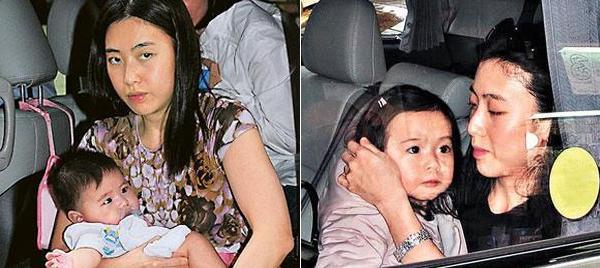 Tỷ phú Hong Kong chống gậy đưa vợ đáng tuổi cháu đi mua sắm - Ảnh 8.