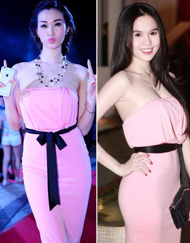 Liên tục bị tố mặc váy nhái, hai người đẹp Việt vẫn thản nhiên như không - Ảnh 9.
