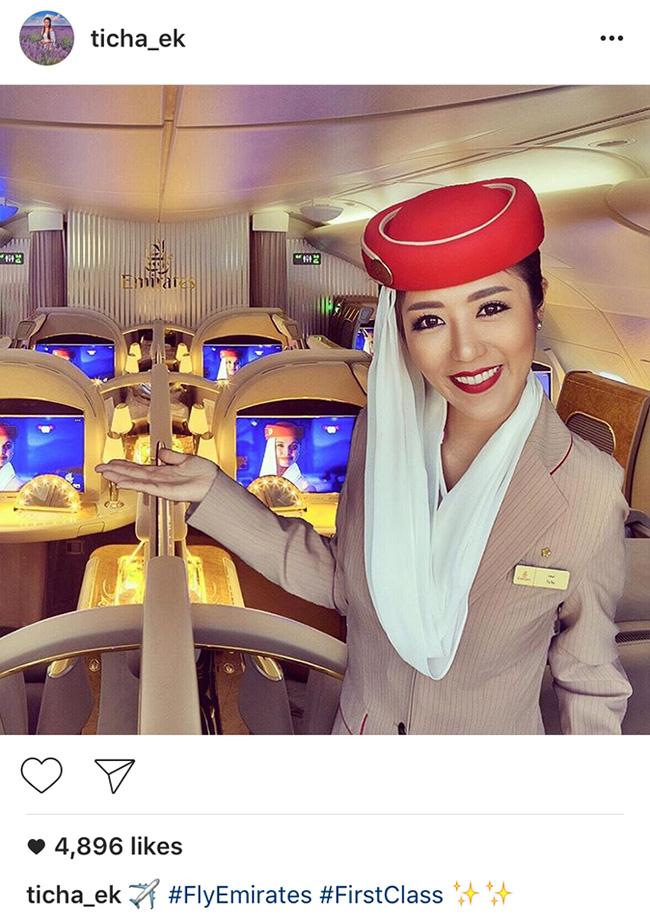 Bị bóc mẽ chuyên ghép ảnh để sống ảo, nữ tiếp viên hàng không xinh đẹp xoá luôn Instagram - Ảnh 4.