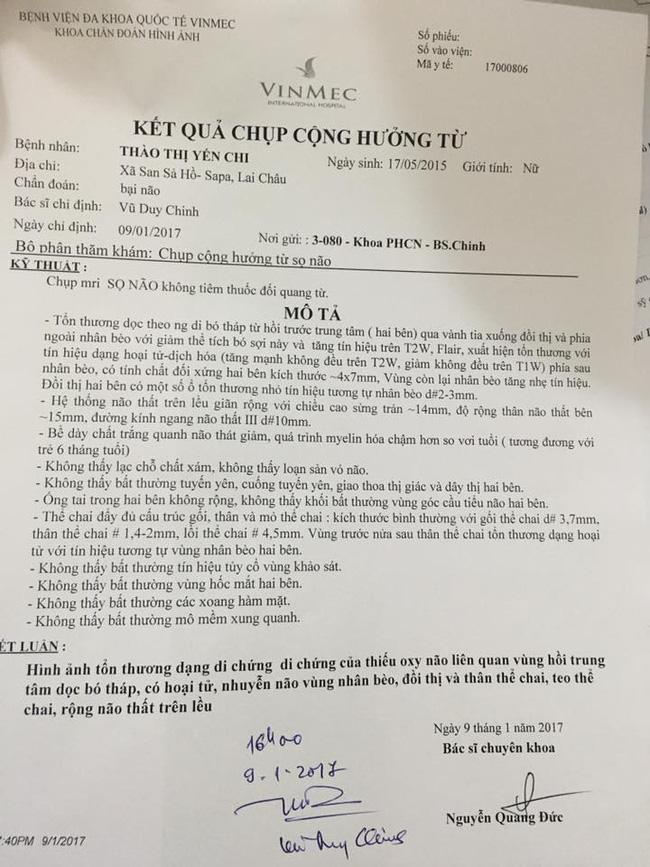 Mẹ nuôi của em bé Lào Cai suy dinh dưỡng lên mạng cầu cứu giúp đỡ vì phát hiện bé tổn thương não - ảnh 4