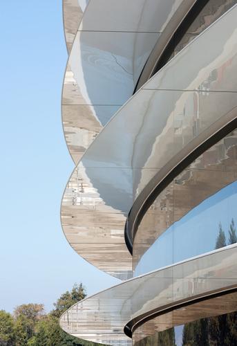 Choáng ngợp với trụ sở mới của Apple - Ảnh 4.