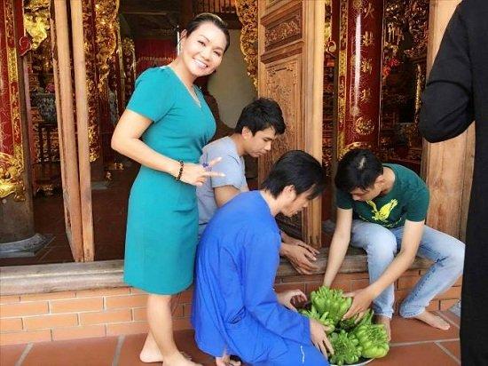 Ảnh mới nhất của Ngọc Huyền ở Việt Nam sau 14 năm ở Mỹ - Ảnh 5.