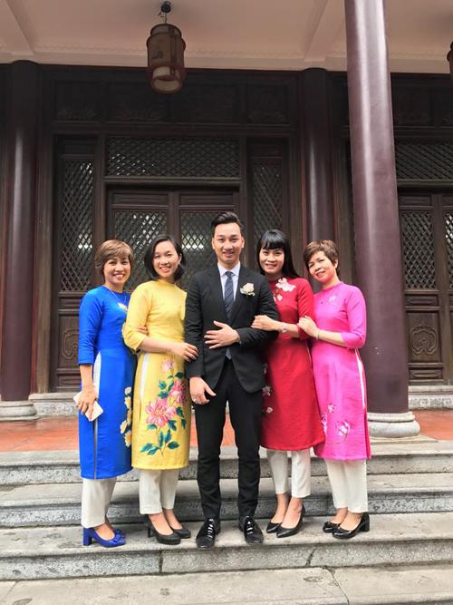 MC Thành Trung rạng rỡ trong buổi lễ hằng thuận với bạn gái Ngọc Hương - Ảnh 4.