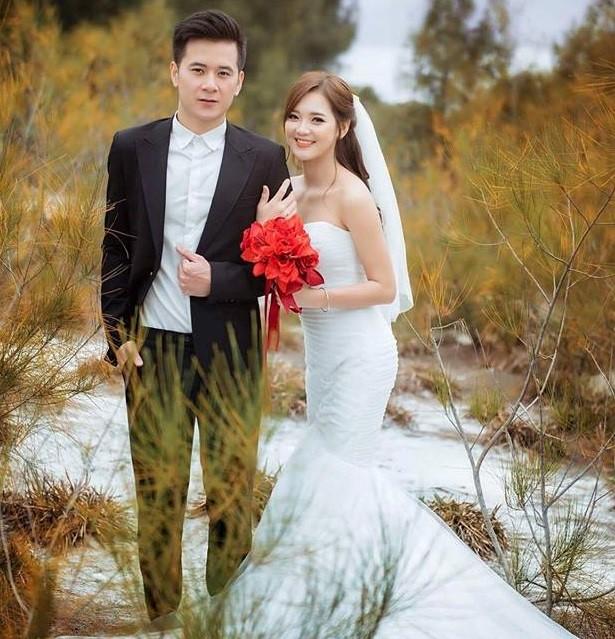 'Hot girl dân tộc' hạnh phúc bên chồng trong bộ ảnh cưới - ảnh 4