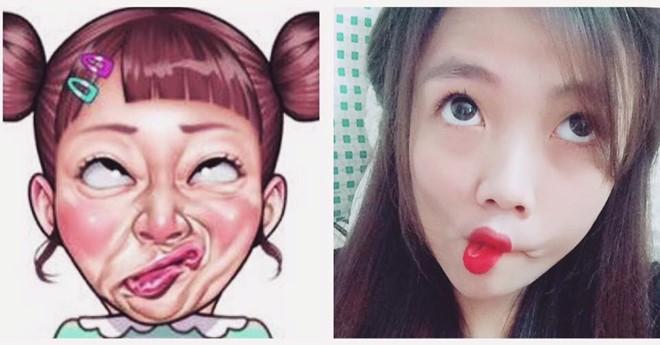 Giới trẻ Việt rộ trào lưu selfie càng xấu càng tốt - Ảnh 4.