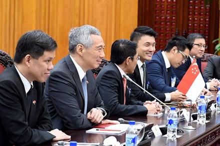 Thủ tướng Nguyễn Xuân Phúc tặng Thủ tướng Singapore món quà độc đáo - Ảnh 4.