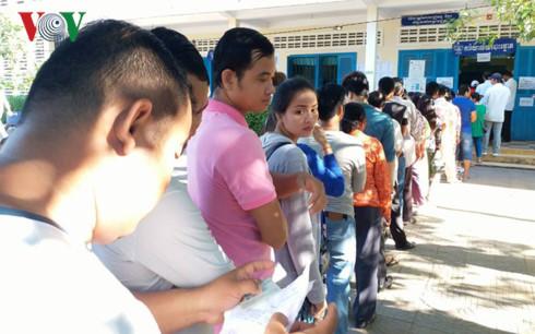 Campuchia bắt đầu bỏ phiếu bầu cử Hội đồng xã, phường nhiệm kỳ 4 - ảnh 4
