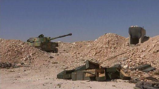 Pháo tự hành tung hoành trên chiến trường Syria - Ảnh 3.