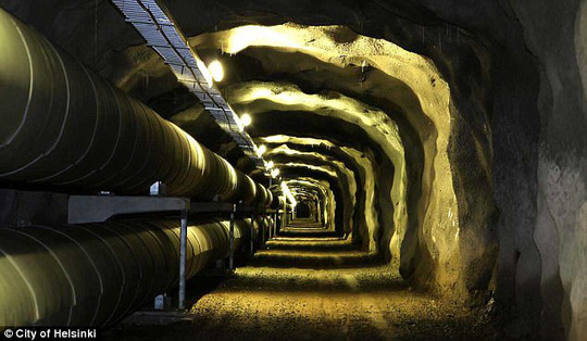Đề phòng Nga, Phần Lan nâng cấp đường hầm bên dưới thủ đô - ảnh 4