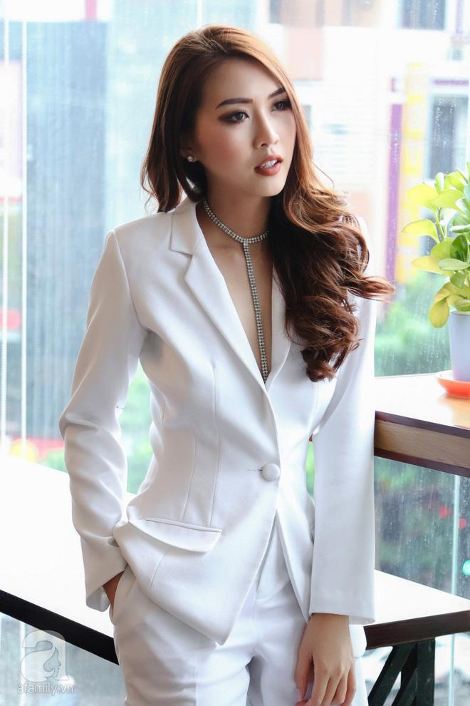 Hoa hậu Tường Linh: Mỗi ngày ngủ được 2 tiếng, nói thí sinh The Face như hot girl kem trộn là thiếu công bằng! - Ảnh 4.