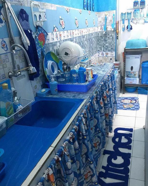 Đây là căn nhà khi hai vợ chồng đều là fan cuồng của mèo ú Doraemon cùng về sống chung! - Ảnh 4.