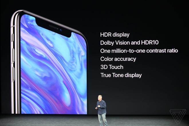 Đây là iPhone X: Giá từ 1000 USD, thiết kế toàn màn hình, loại bỏ nút Home và Touch ID, nhận diện khuôn mặt Face ID, màn hình Super Retina Display - Ảnh 4.
