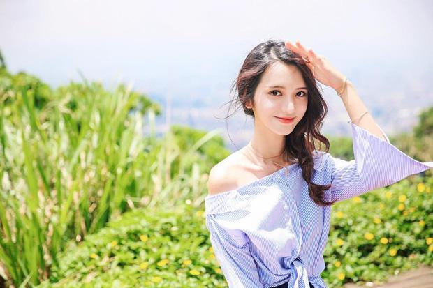 Cô bạn Đài Loan gây bão vì góc nghiêng thần thánh đẹp đến nao lòng - Ảnh 4.