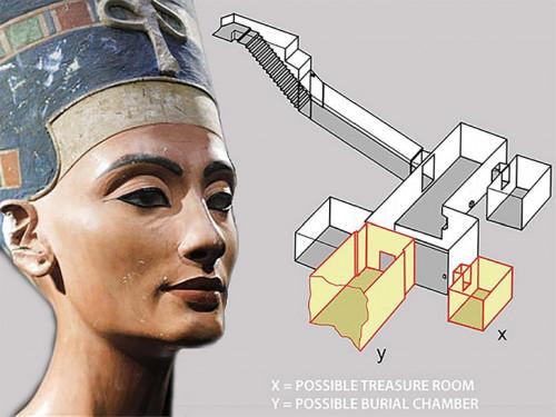 Căn phòng bí mật đầy của cải trong mộ vua Tut - Ảnh 3.
