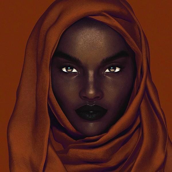 Xôn xao tấm hình nữ người mẫu da đen xinh đẹp nhất mạng xã hội: Người thật hay là mô hình? - Ảnh 4.