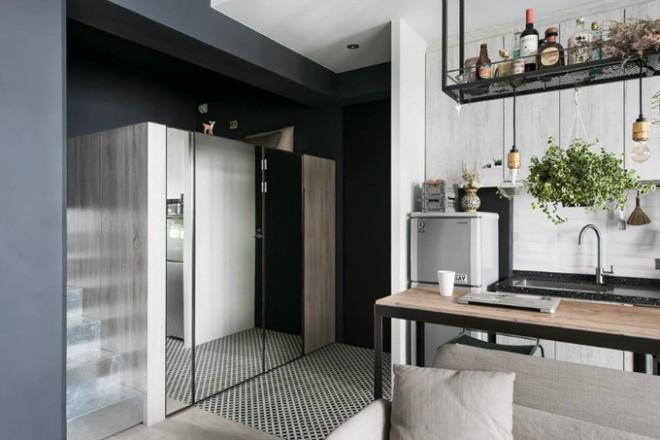 photo 3 1510976213330 Thiết kế căn hộ đẹp nhỏ chỉ vỏn vẹn 30m² nhưng khiến cho bất kỳ ai cũng xiêu lòng