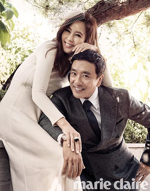Chuyện tình 12 năm của nữ hoàng quảng cáo Kim Nam Joo và quý ông từng qua một đời vợ Kim Seung Woo - Ảnh 3.