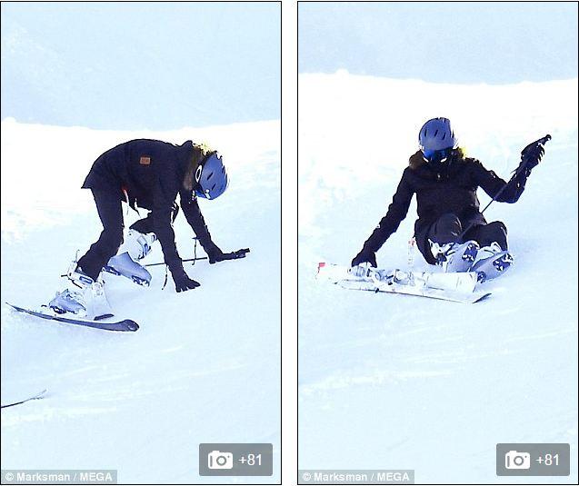 Angelina Jolie trượt tuyết với các con sau tin đồn giảm cân còn 34 kg - Ảnh 5.