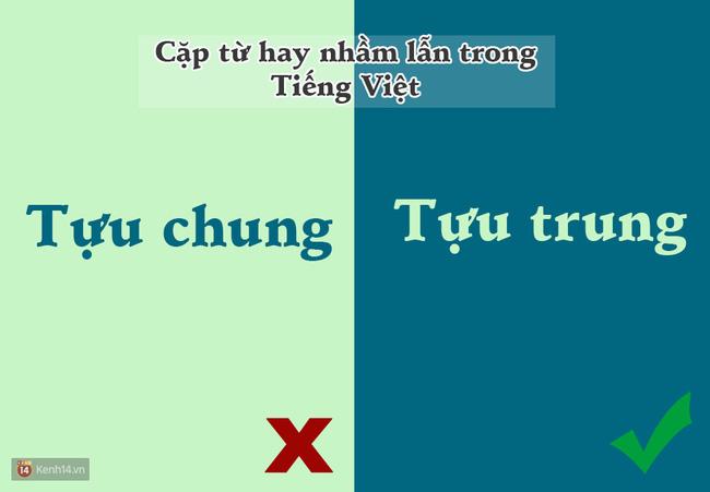 10 cặp từ ai cũng hay bị lẫn lộn trong Tiếng Việt - Ảnh 5.