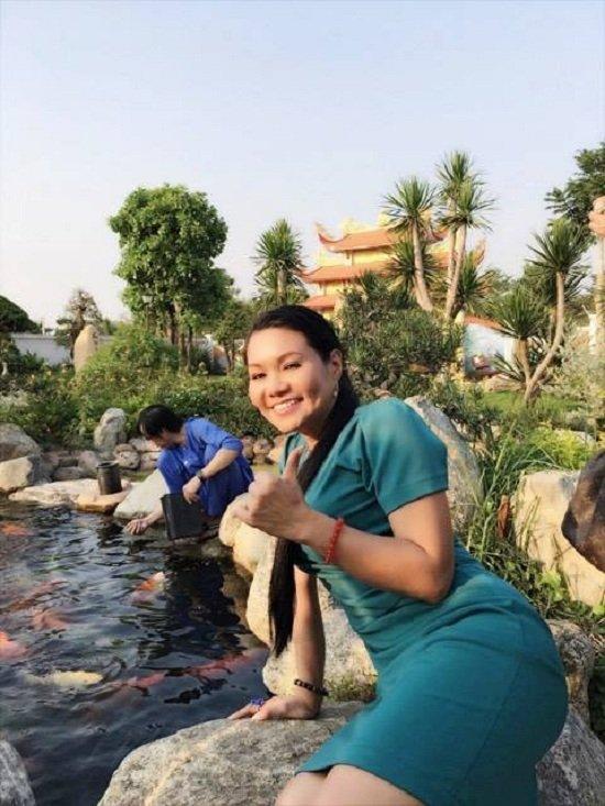 Ảnh mới nhất của Ngọc Huyền ở Việt Nam sau 14 năm ở Mỹ - Ảnh 6.
