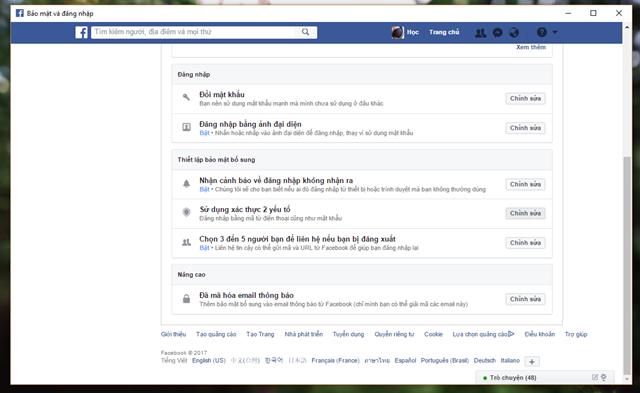 6 mẹo đơn giản giúp nâng cao tính bảo mật cho tài khoản Facebook của bạn - Ảnh 4.