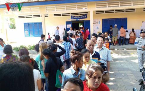 Campuchia bắt đầu bỏ phiếu bầu cử Hội đồng xã, phường nhiệm kỳ 4 - ảnh 5