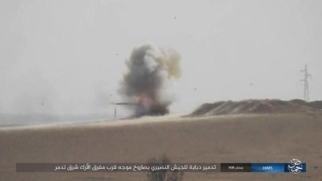 IS bắn tên lửa TOW đánh chặn quân đội Syria - ảnh 4